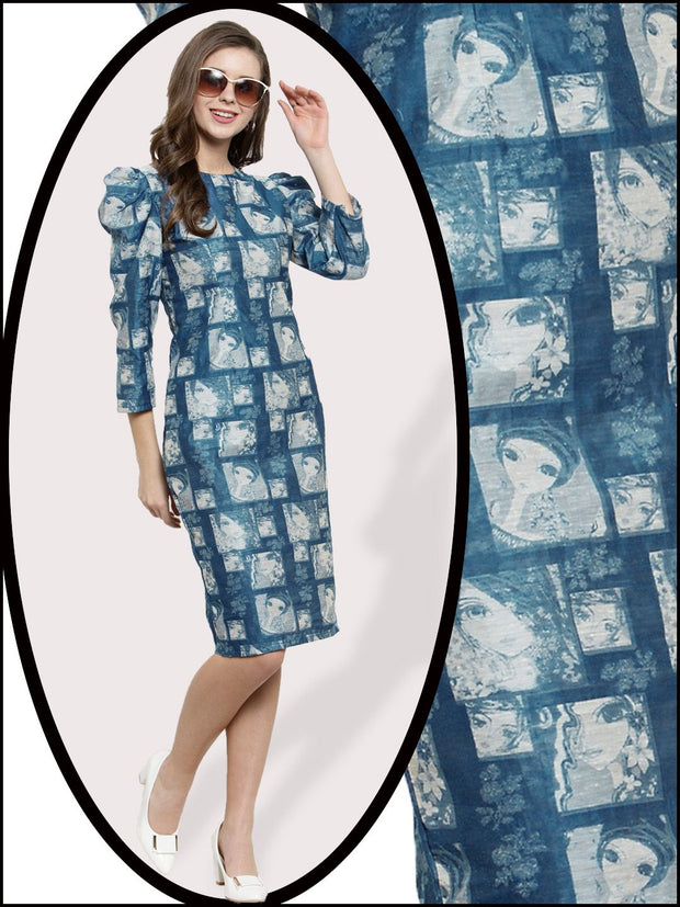Get Glamr Women's Cotton Designer Dress