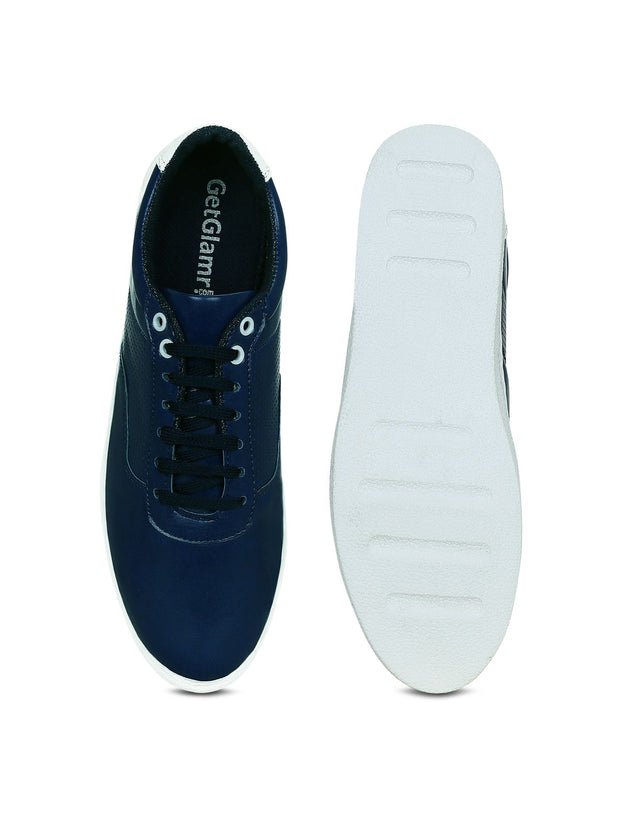 Get Glamr Mens Blue Sneakers