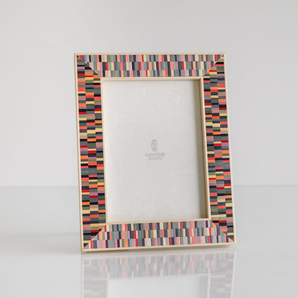 "Mirage Picture Frame, Large, 5"" x 7"", Reflection Straw Palette"