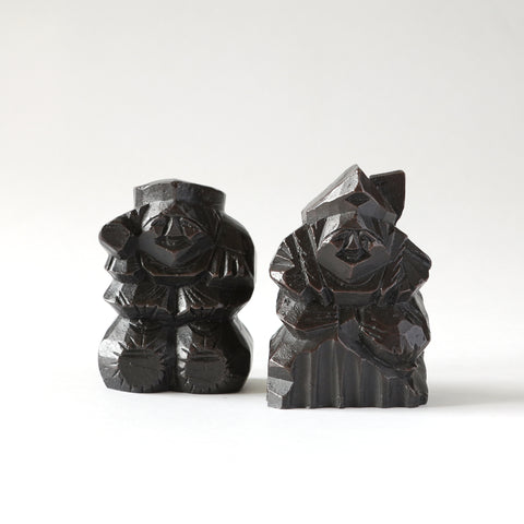 Set of Mingei Carvings
