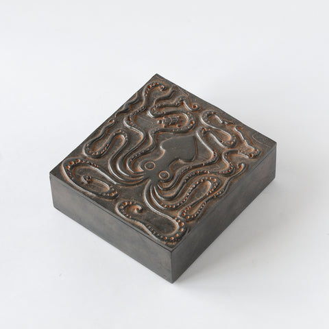 Bronze Octopus Box