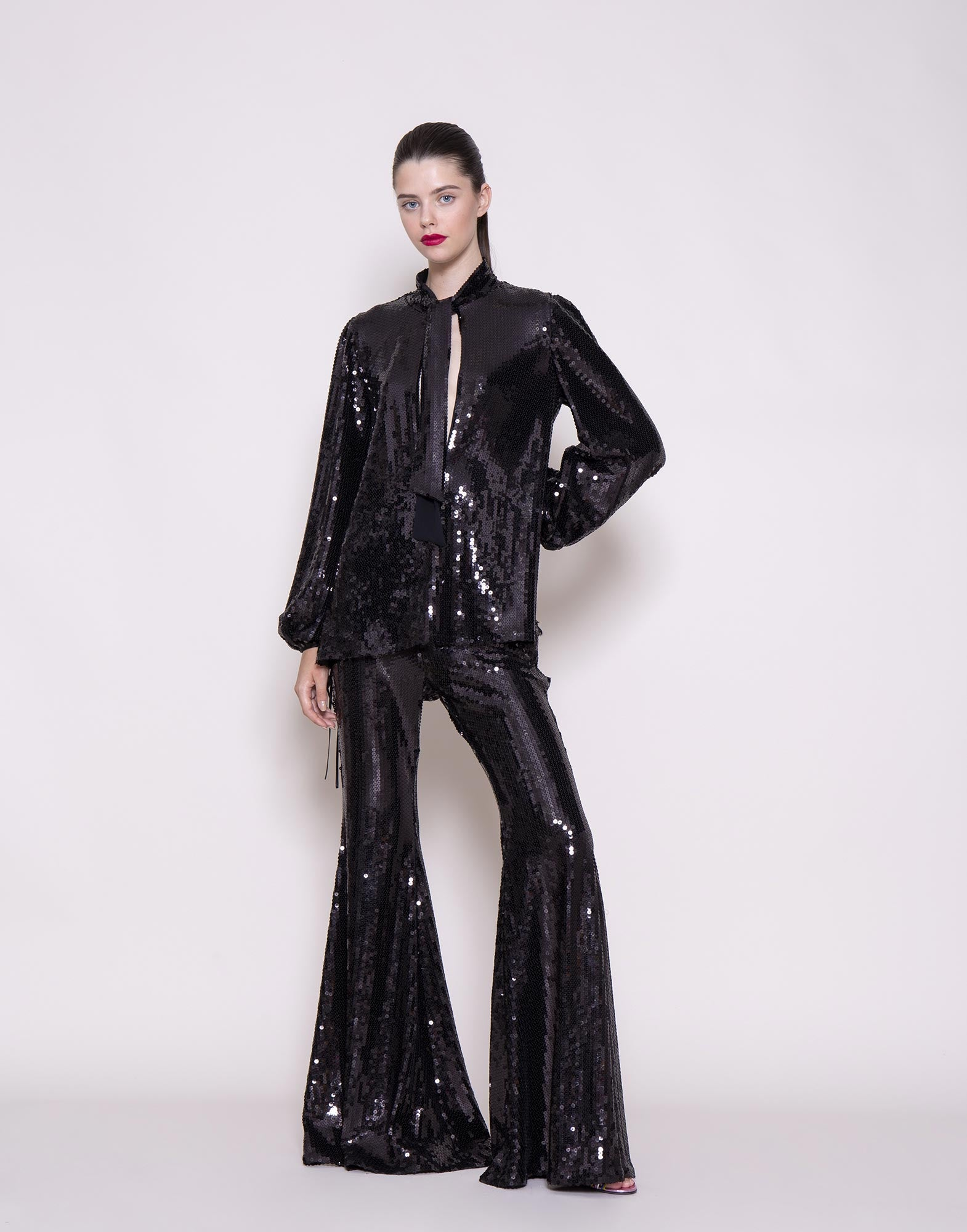 AMEN_SEQUINS_FLARED_TROUSERS_AMS20314