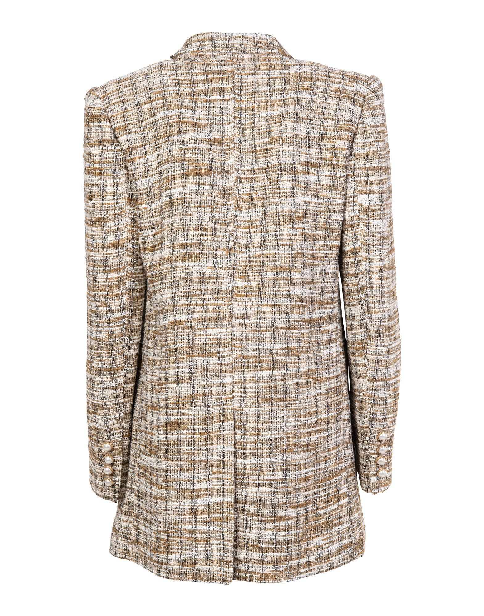 Double-breasted tweed jacket - NEW IN