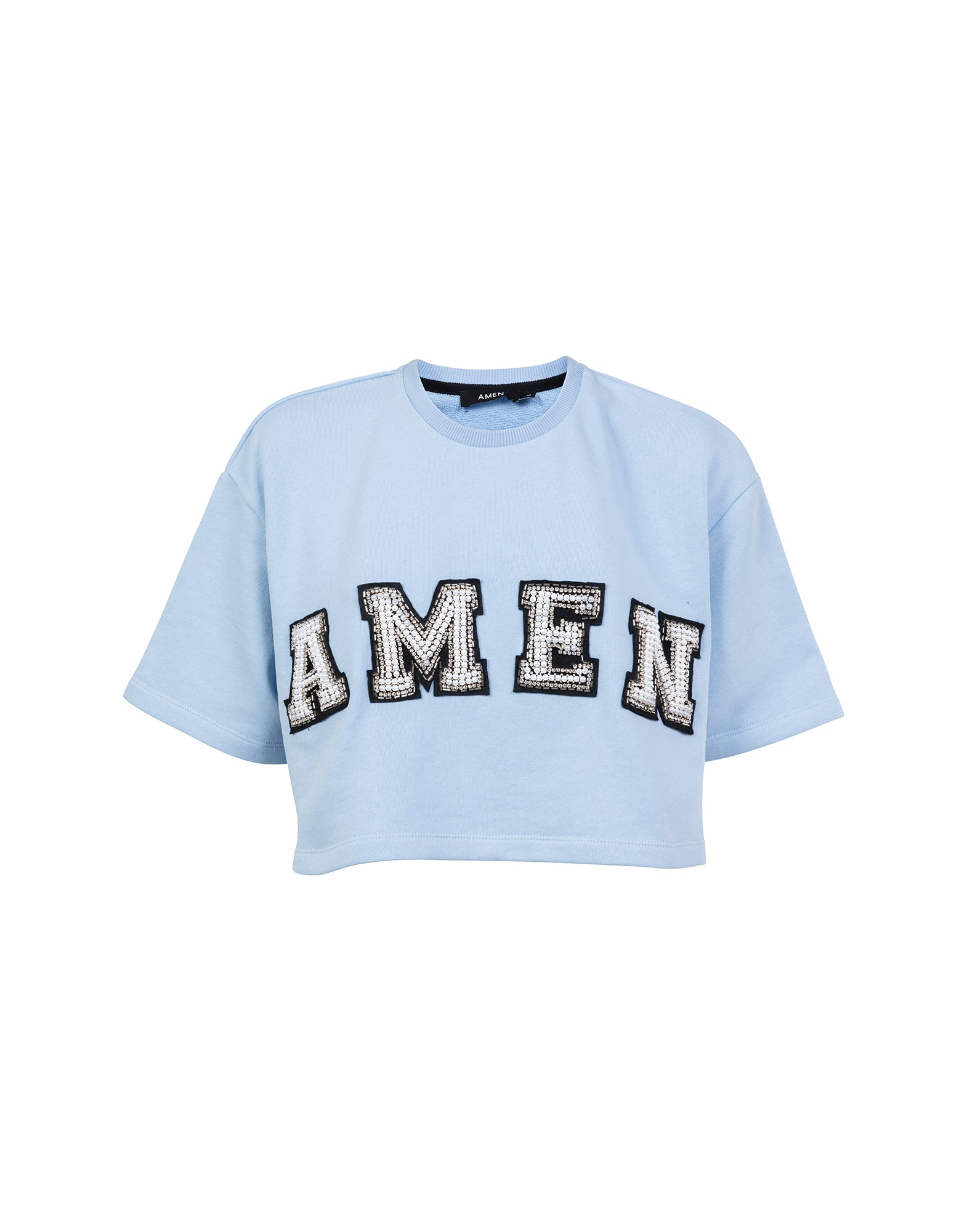 Cropped logo sweatshirt- NEW COLLECTION