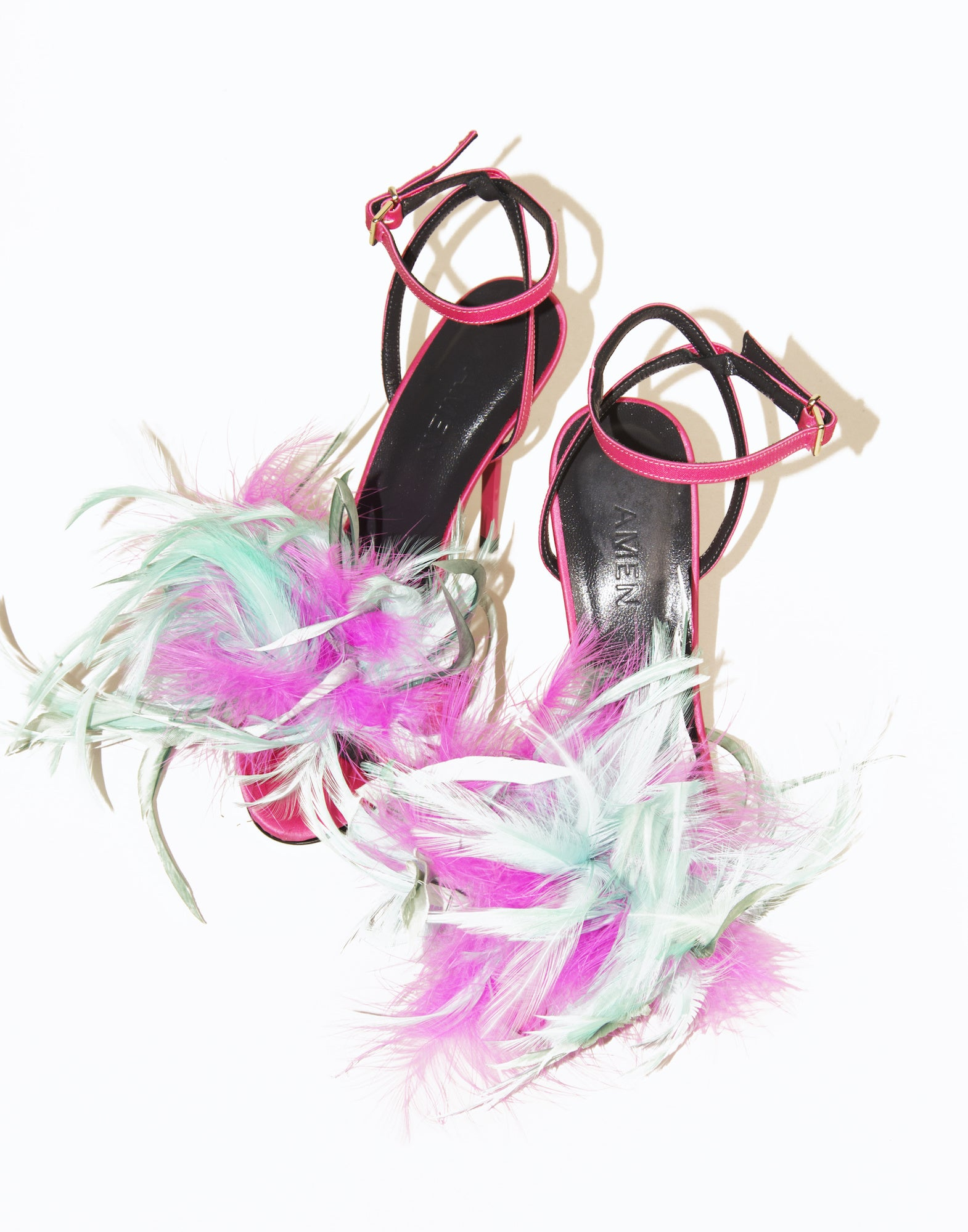 Feather pumps