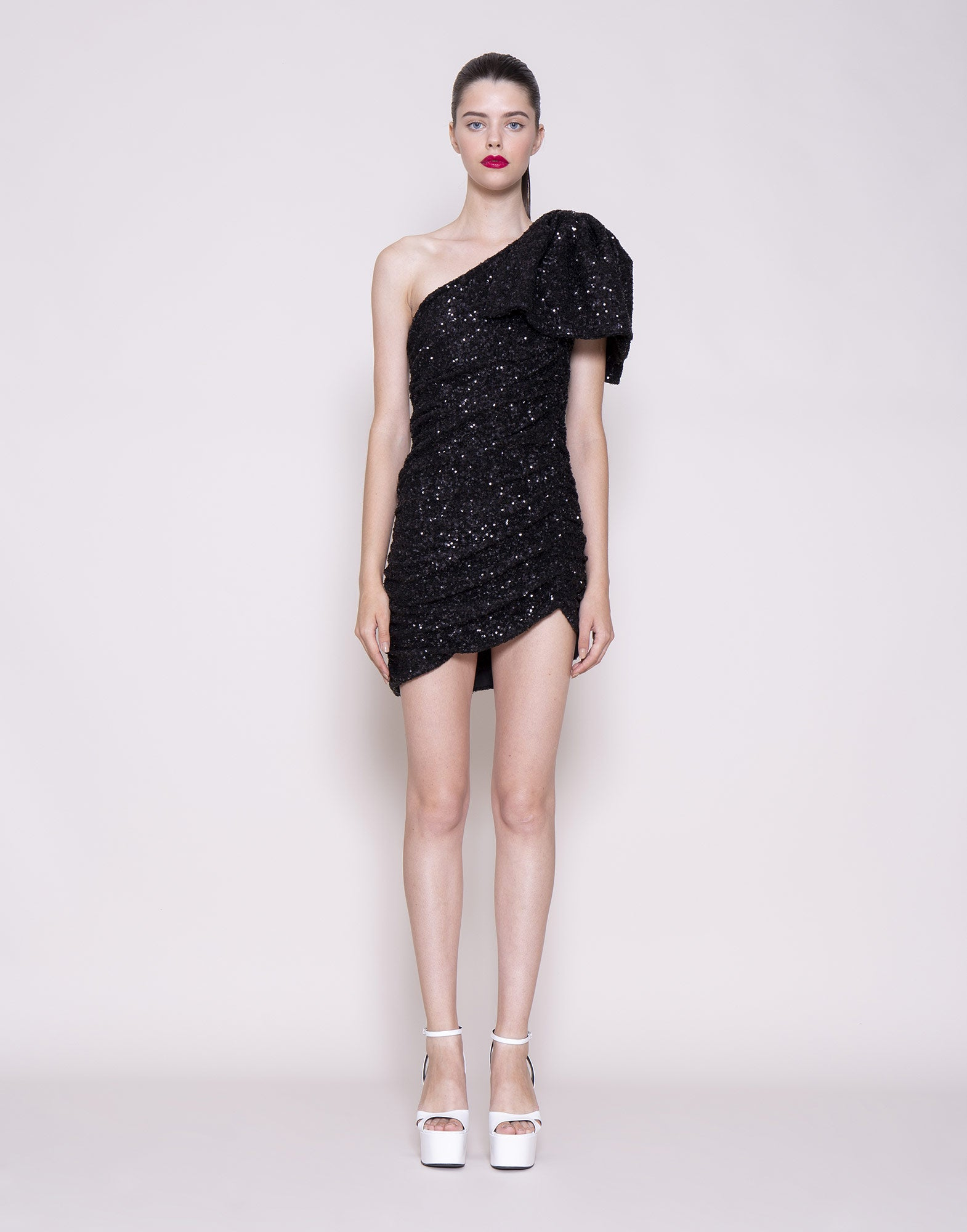 Sequins bow dress