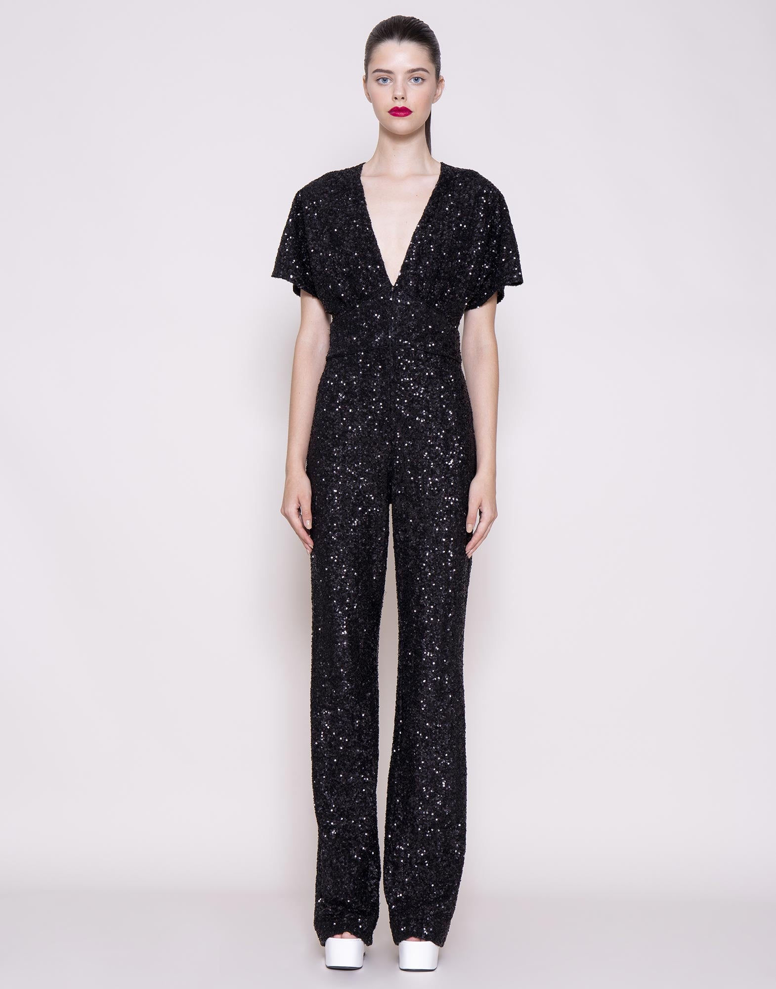 Sequins long jumpsuit
