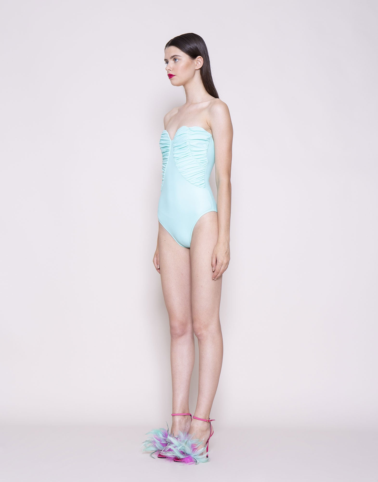 Draped swimsuit | NEW ARRIVALS