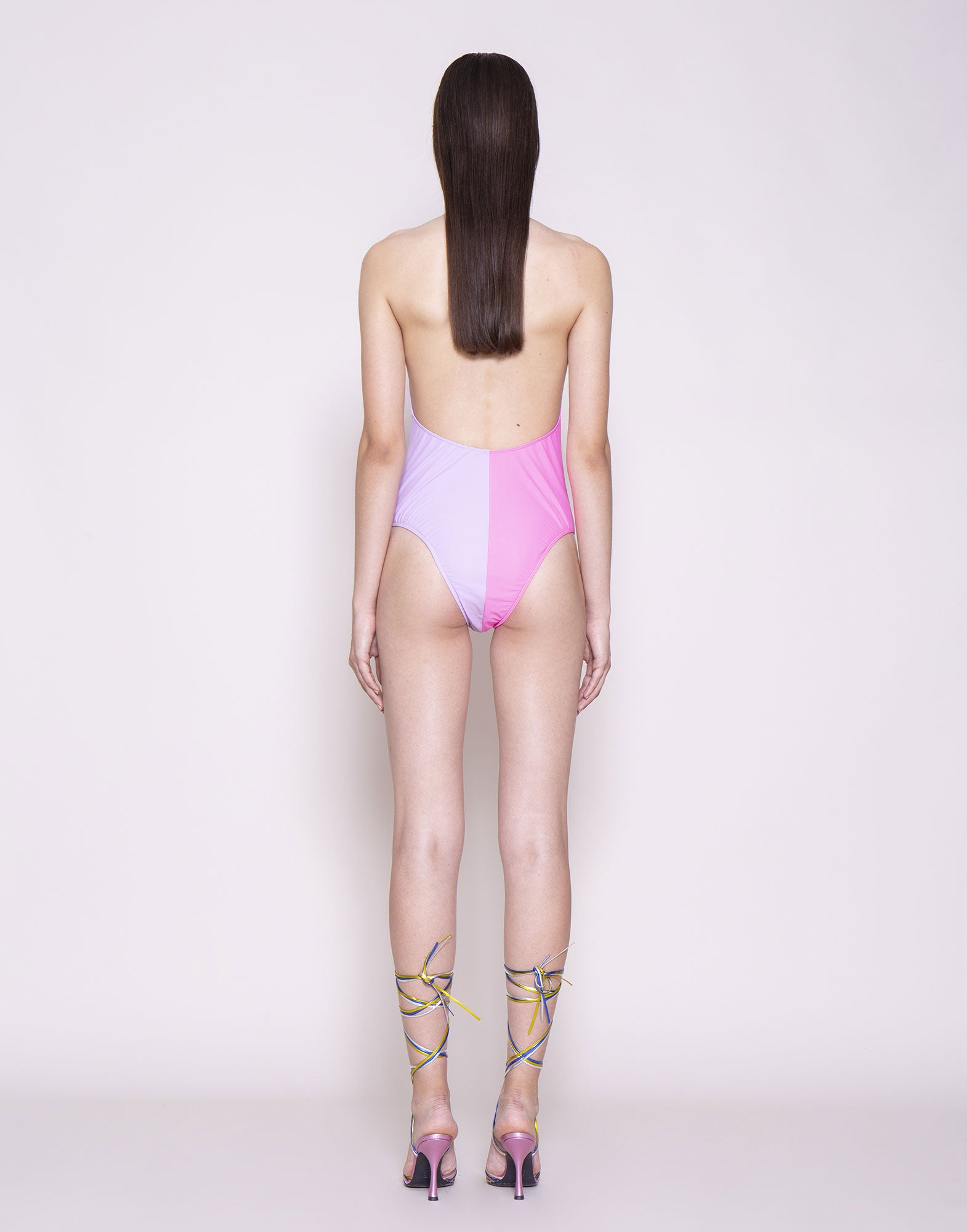 Double pink swimsuit | NEW ARRIVALS