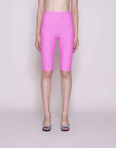 Pink lycra biker shorts | NEW ARRIVALS
