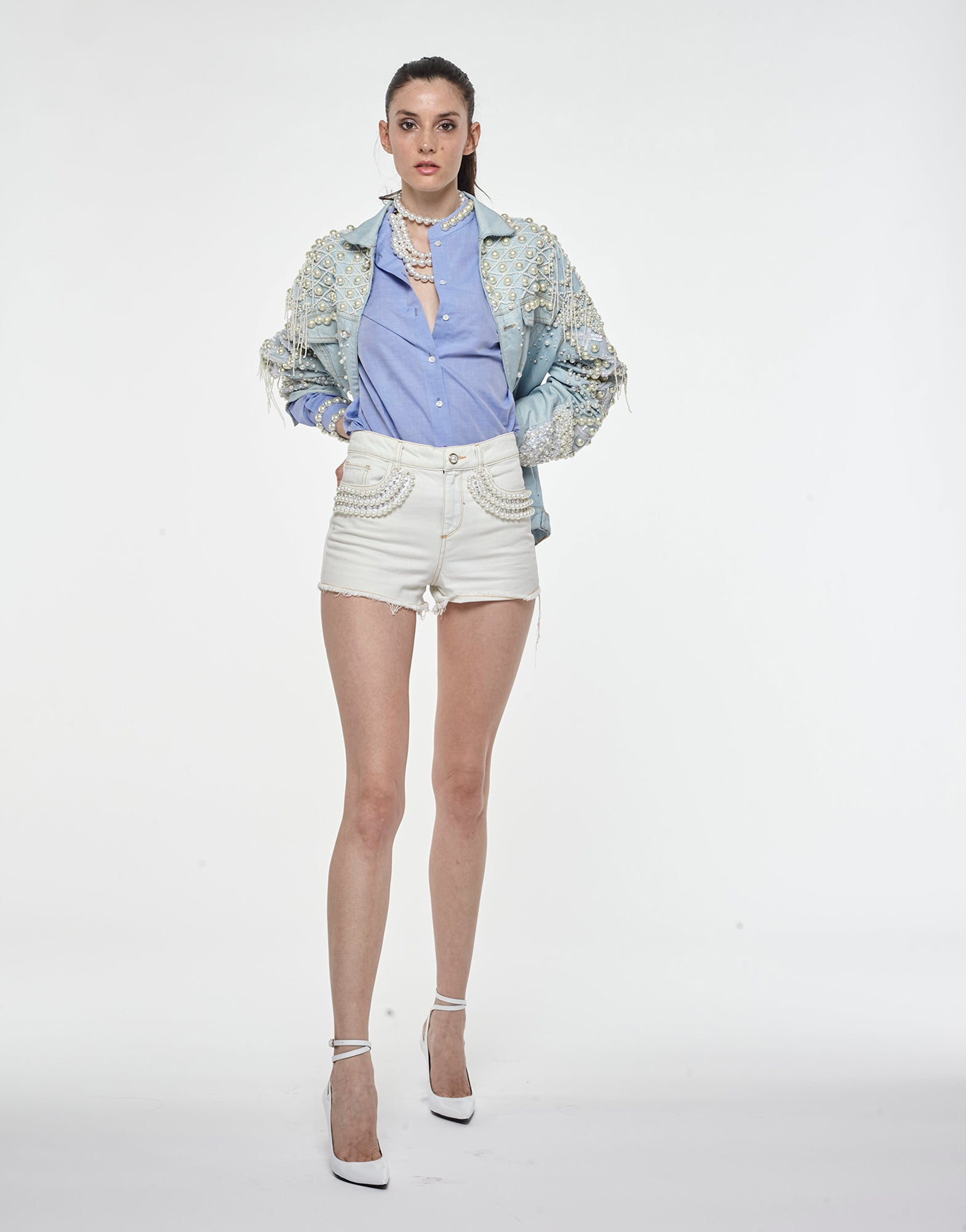 Denim shorts - NEW IN