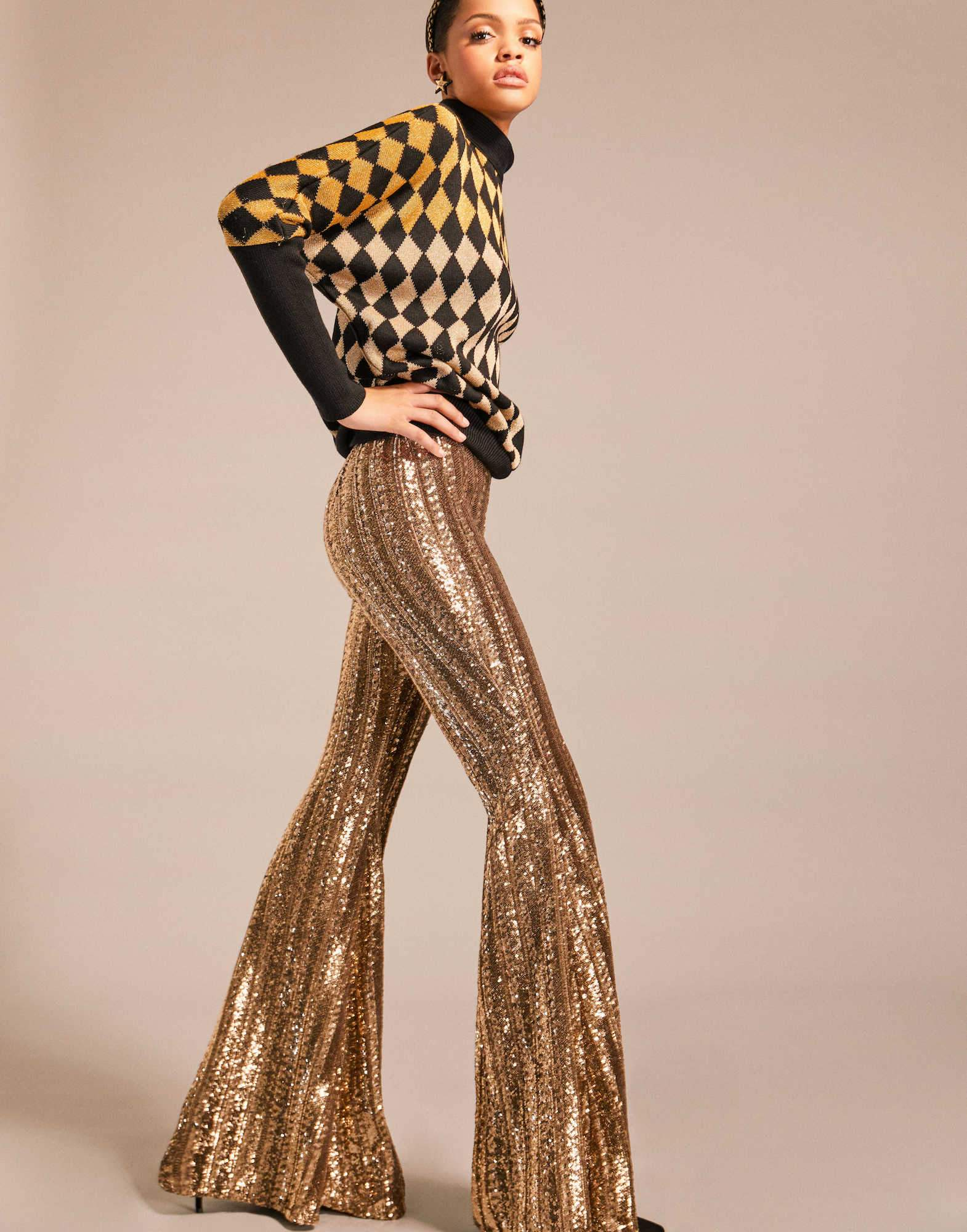 Sequin-embroidered-flare-pants-Amen