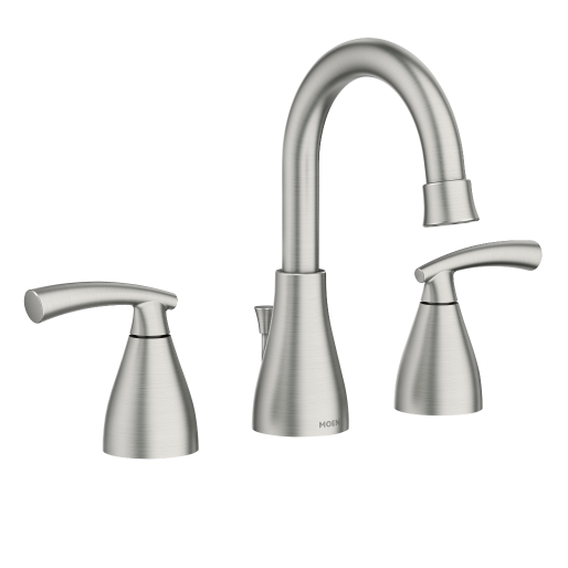 Essie™ Two-Handle Widespread Faucet Spot Resist™ Brushed Nickel