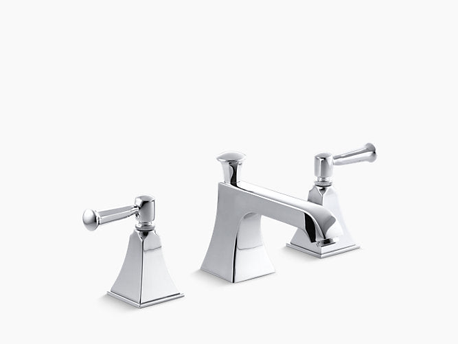 Memoirs® StatelyWidespread bathroom sink faucet with lever handles