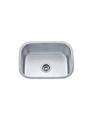 "SINGLE UNDERMOUNT SINK 18G 24"" X 18"" X 9"""
