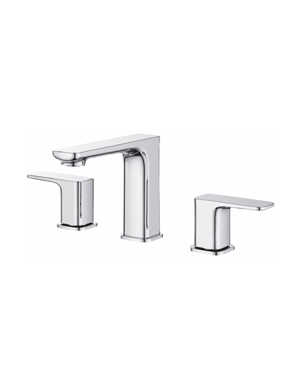 "Skip to the end of the images gallery Skip to the beginning of the images gallery RATEL 8"" WIDESPREAD 2-HANDLE BATHROOM FAUCET IN CHROME"