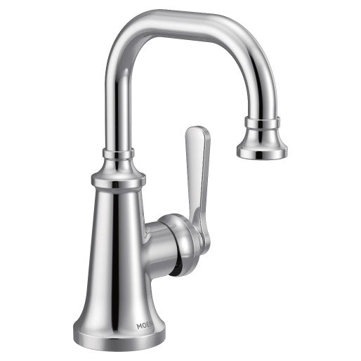 Colinet Chrome One-Handle High Arc Bathroom Faucet