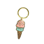 Ice Cream Keychain