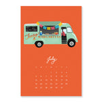 SLIGHTLY IMPERFECT Food Trucks Calendar