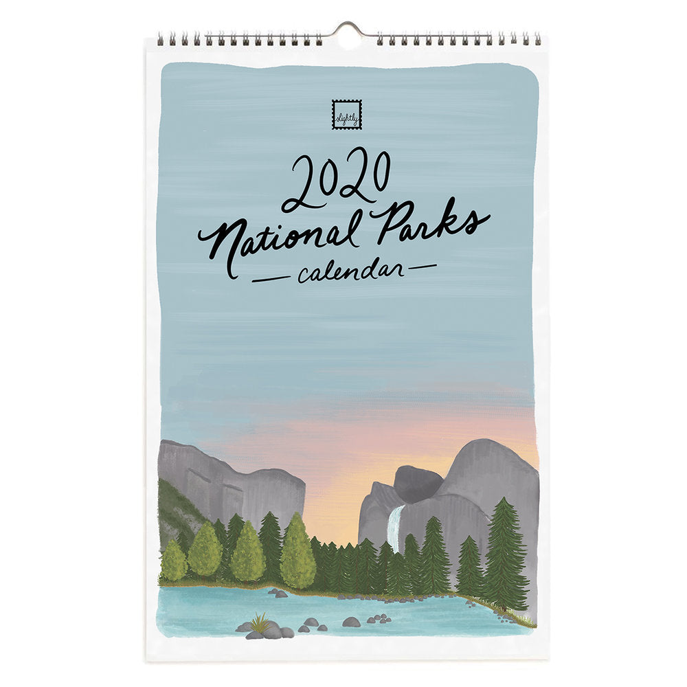 SLIGHTLY IMPERFECT 2020 National Parks Calendar