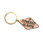 Powered by Plants Keychain