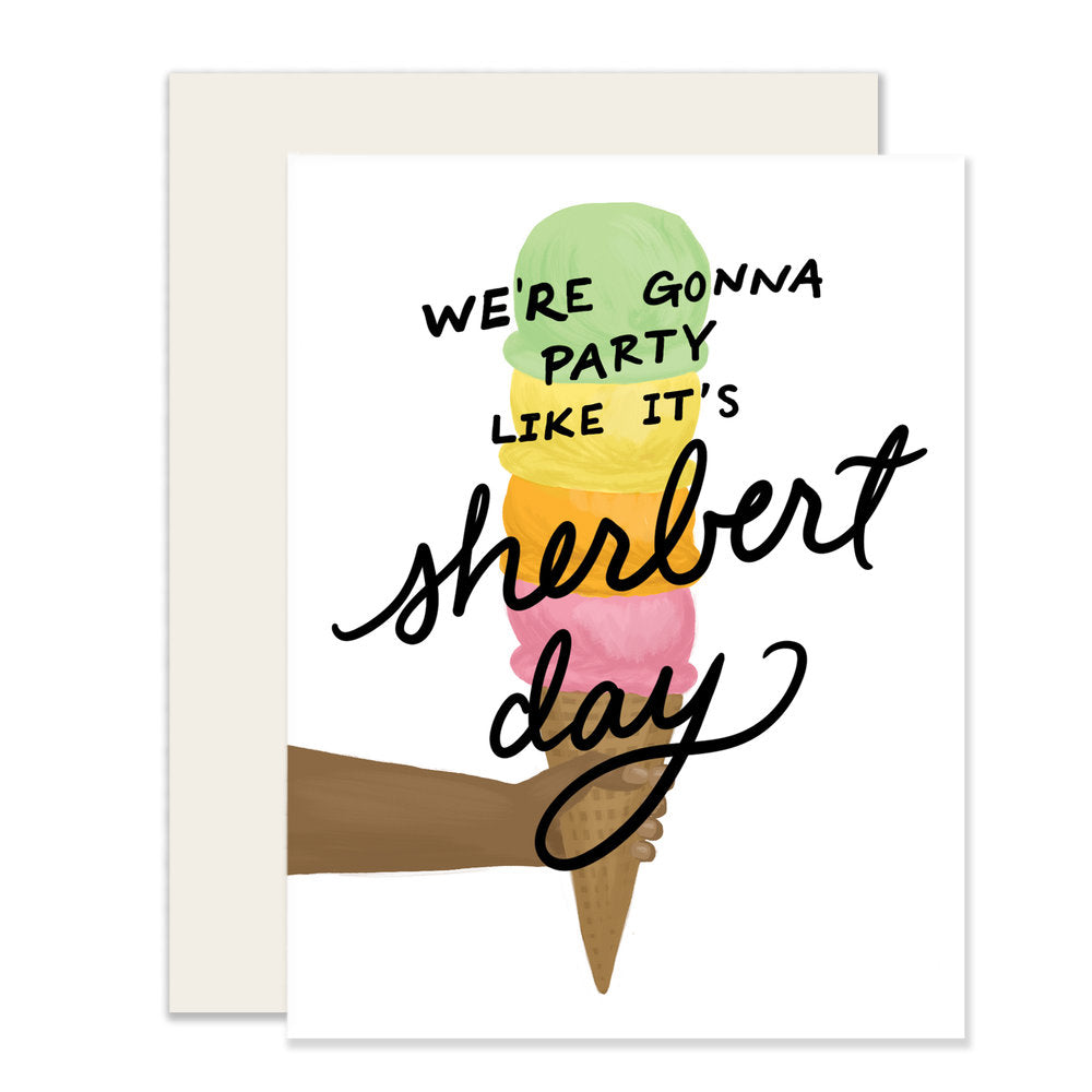 It's Sherbert Day