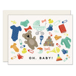 Baby Goods Greeting Card | Slightly Stationery