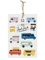 Slightly Imperfect 2021 Food Trucks Calendar