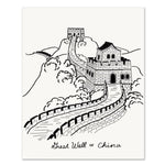 Great Wall of China | Art Print