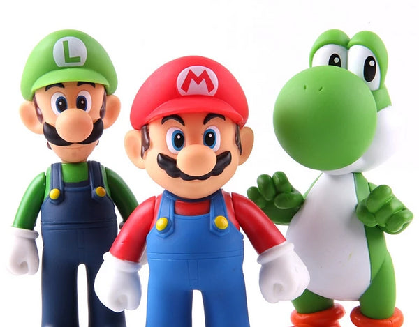 Super Mario set 3 figurek