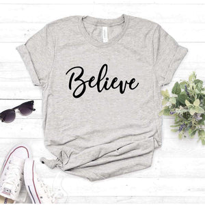 Camiseta estampada T-shirt Belive
