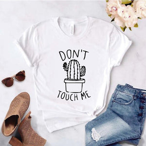 Camiseta estampada T-shirt Captus Dont  touch me