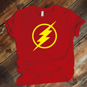 Camiseta Estampada Unisex T-shirt FLASH DC