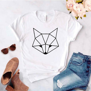 Camiseta estampada tipo T- shirt FOX CACHORRO