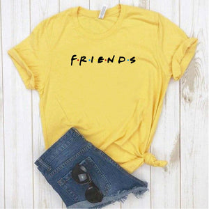 Camisa estampada tipo T- shirt FRIENDS LOGO