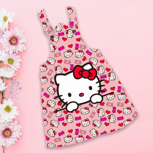 Braga de niña estampada diseño Hello kitty