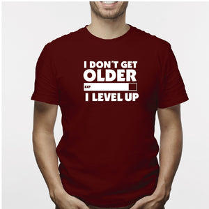 Camiseta estampada hombre T-shirt I dont get OLDER