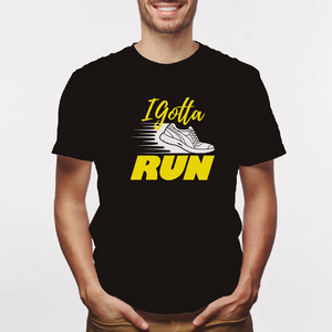 Camiseta estampada tipo T-shirt I GOTTA RUN (FITNESS)
