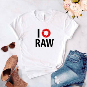 Camisa estampada tipo T- shirt I (obturador) Raw