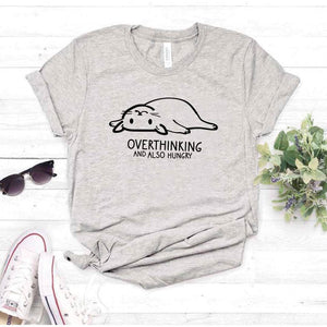 Camiseta estampada T-shirt Gatito Over Thinking