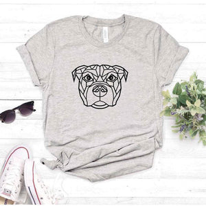 Camiseta estampada tipo T-shirt PITBULL