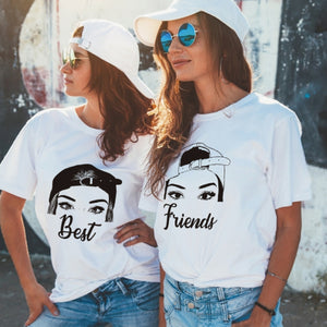 Camiseta T-shirt mujer BEST FRIENDS