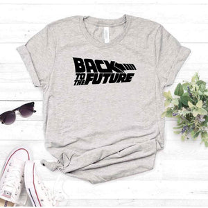 Camisa estampada tipo T- shirt BACK TO THE FUTURE