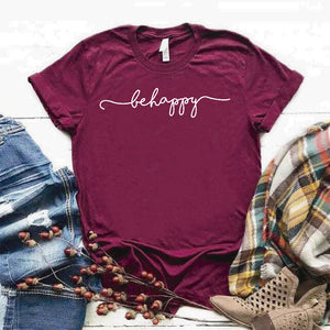 Camiseta Estampada T-shirt Behappy