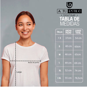 Camiseta estampada tipo T-shirt GOLDEN DE PERFIL