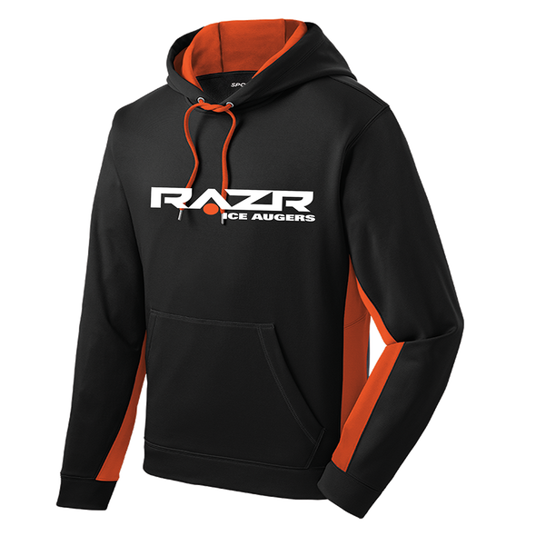 Razr Men's Sport Wick Fleece Colorblock Hoodie