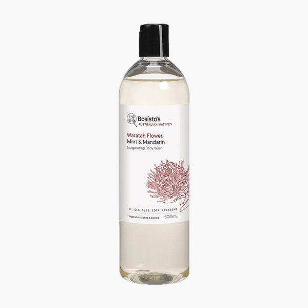 Waratah Flower, Mint & Mandarin Invigorating Body Wash