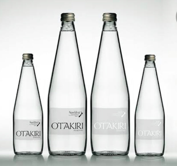 Otakiri glass bottled water