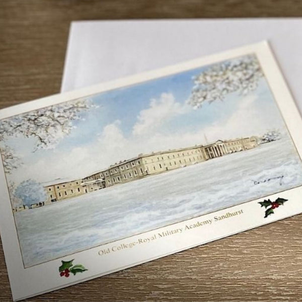 Christmas Card - Old College