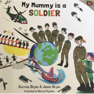 Book-My Mummy is a Soldier